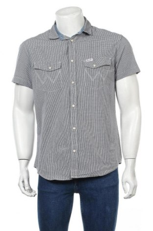 Мъжка риза Wrangler, Размер L, Цвят Бял, Памук, Цена 22,68лв.