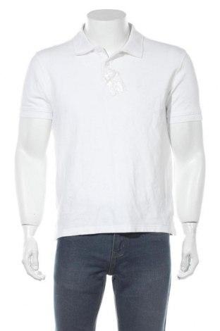 Мъжка тениска, Размер L, Цвят Бял, Памук, Цена 7,56лв.