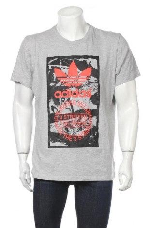 Мъжка тениска Adidas Originals, Размер XL, Цвят Сив, Памук, Цена 30,45лв.