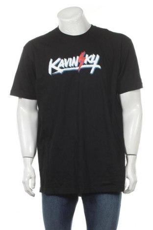 Мъжка тениска American Apparel, Размер XL, Цвят Черен, Памук, Цена 16,80лв.