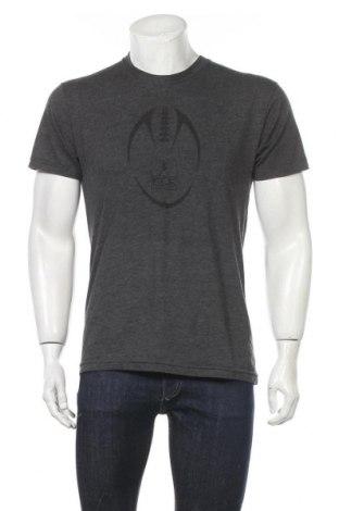Мъжка тениска American Apparel, Размер M, Цвят Сив, 50% памук, 50% полиестер, Цена 17,85лв.