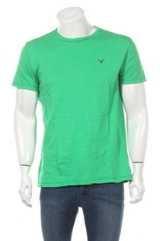 Мъжка тениска American Eagle, Размер M, Цвят Зелен, Памук, Цена 12,29лв.