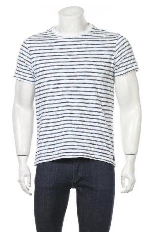Мъжка тениска Angelo Litrico, Размер M, Цвят Бял, Памук, Цена 13,39лв.