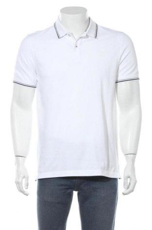 Мъжка тениска Bugatti, Размер M, Цвят Бял, Памук, Цена 55,30лв.