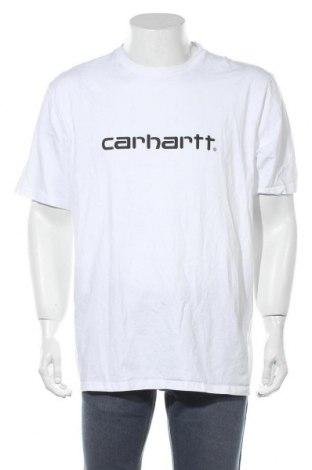 Мъжка тениска Carhartt, Размер XXL, Цвят Бял, Памук, Цена 59,86лв.