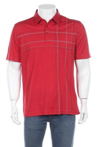 Ανδρικό t-shirt Charles Vogele, Μέγεθος L, Χρώμα Κόκκινο, 60% πολυεστέρας, 40% βαμβάκι, Τιμή 11,11€