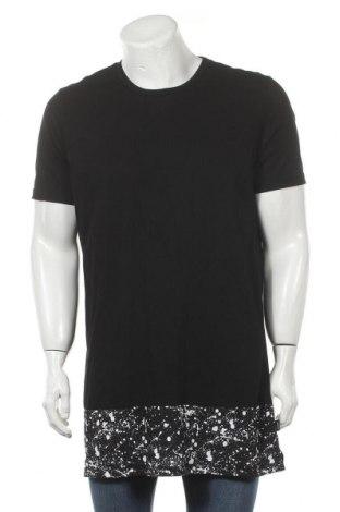 Мъжка тениска Cool Cat, Размер XL, Цвят Черен, 100% памук, Цена 15,96лв.