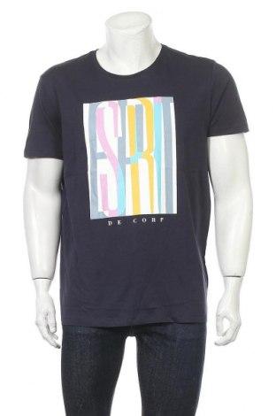 Tricou de bărbați Edc By Esprit, Mărime L, Culoare Albastru, Bumbac, Preț 88,82 Lei