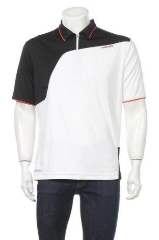 Мъжка тениска Head, Размер L, Цвят Бял, Полиестер, Цена 19,95лв.