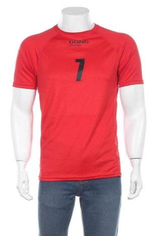 Мъжка тениска Hurricane, Размер M, Цвят Червен, Полиестер, Цена 28,35лв.