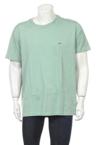 Tricou de bărbați Lee, Mărime XXL, Culoare Verde, Bumbac, Preț 76,97 Lei