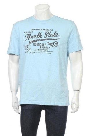 Ανδρικό t-shirt Man's World, Μέγεθος L, Χρώμα Μπλέ, Βαμβάκι, Τιμή 13,92€