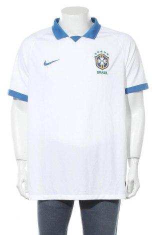 Мъжка тениска Nike, Размер XL, Цвят Бял, Цена 41,90лв.