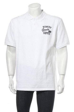 Tricou de bărbați Q/S by S.Oliver, Mărime XXL, Culoare Alb, Bumbac, Preț 61,58 Lei