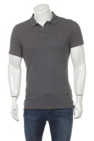 Ανδρικό t-shirt Q/S by S.Oliver, Μέγεθος M, Χρώμα Γκρί, Βαμβάκι, Τιμή 15,08€