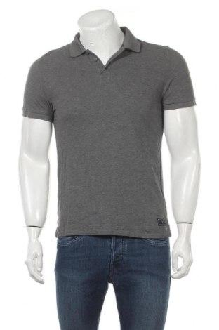 Ανδρικό t-shirt Q/S by S.Oliver, Μέγεθος M, Χρώμα Γκρί, Βαμβάκι, Τιμή 13,92€