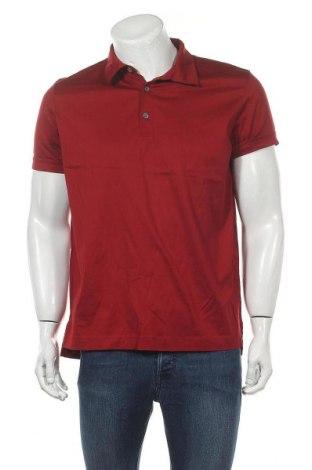 Мъжка тениска Rene Lezard, Размер XL, Цвят Червен, 100% памук, Цена 21,75лв.