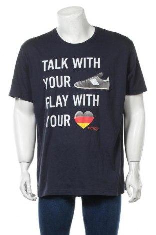 Ανδρικό t-shirt S.Oliver, Μέγεθος XXL, Χρώμα Μπλέ, 100% βαμβάκι, Τιμή 12,37€