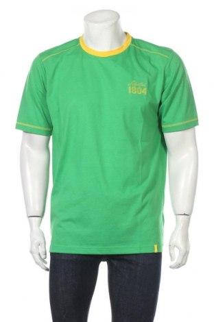 Ανδρικό t-shirt Schoffel, Μέγεθος XL, Χρώμα Πράσινο, 65% πολυεστέρας, 35% βαμβάκι, Τιμή 11,57€