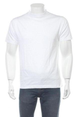 Мъжка тениска Shamp, Размер S, Цвят Бял, Памук, Цена 16,80лв.