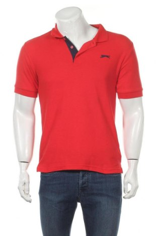 Мъжка тениска Slazenger, Размер S, Цвят Червен, 65% полиестер, 35% памук, Цена 13,26лв.
