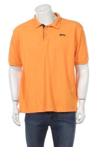 Мъжка тениска Slazenger, Размер XL, Цвят Оранжев, 65% полиестер, 35% памук, Цена 16,38лв.