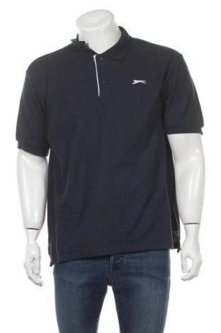 Мъжка тениска Slazenger, Размер L, Цвят Син, 65% полиестер, 35% памук, Цена 15,60лв.