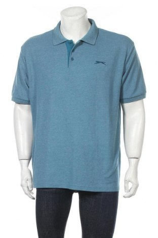 Мъжка тениска Slazenger, Размер XXL, Цвят Син, Цена 16,80лв.