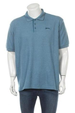 Мъжка тениска Slazenger, Размер XXL, Цвят Син, Цена 17,85лв.