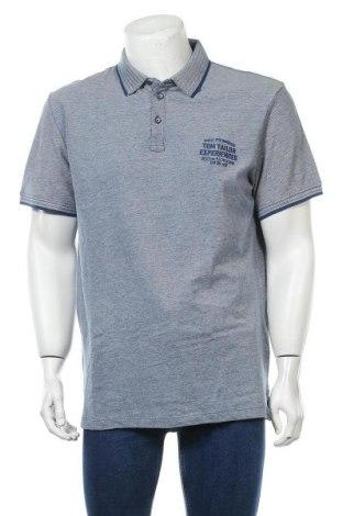 Ανδρικό t-shirt Tom Tailor, Μέγεθος L, Χρώμα Μπλέ, Βαμβάκι, Τιμή 18,44€