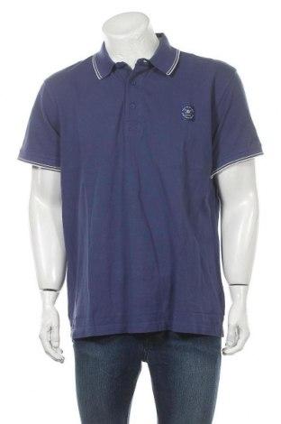 Мъжка тениска Tom Tailor, Размер XXL, Цвят Син, Памук, Цена 28,47лв.