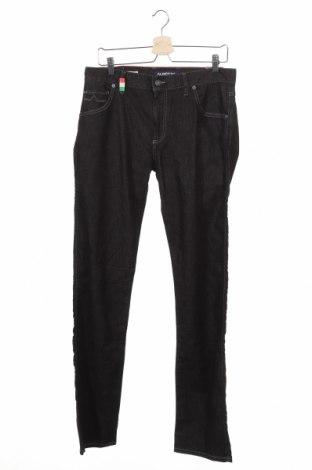 Мъжки дънки Alberto, Размер M, Цвят Сив, 98% памук, 2% еластан, Цена 14,44лв.