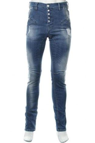 Мъжки дънки Gang, Размер M, Цвят Син, 70% памук, 28% полиестер, 2% еластан, Цена 41,90лв.