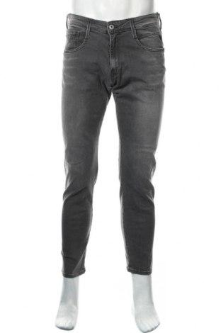 Мъжки дънки Replay, Размер M, Цвят Сив, 98% памук, 2% еластан, Цена 114,72лв.