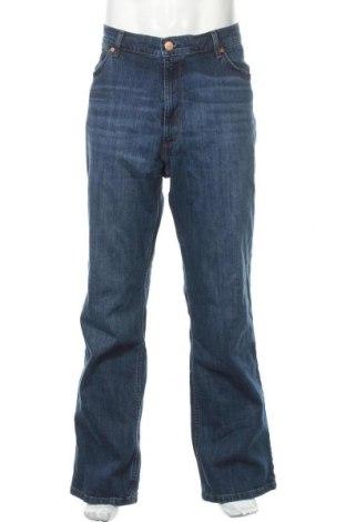 Мъжки дънки Wrangler, Размер XXL, Цвят Син, 99% памук, 1% еластан, Цена 97,30лв.