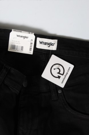 Мъжки дънки Wrangler, Размер L, Цвят Черен, 98% памук, 2% еластан, Цена 111,75лв.