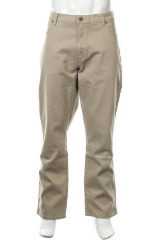 Мъжки дънки Wrangler, Размер XL, Цвят Бежов, 98% памук, 2% еластан, Цена 104,30лв.