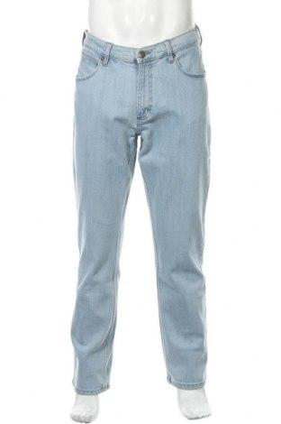 Мъжки дънки Wrangler, Размер L, Цвят Син, 98% памук, 2% еластан, Цена 104,30лв.