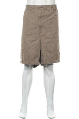Мъжки къс панталон, Размер 5XL, Цвят Кафяв, Памук, Цена 22,05лв.