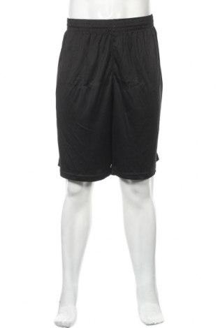 Мъжки къс панталон, Размер XXL, Цвят Черен, Полиестер, Цена 7,09лв.