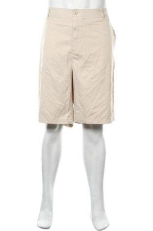Мъжки къс панталон Academy, Размер 3XL, Цвят Бежов, 97% полиестер, 3% еластан, Цена 4,73лв.