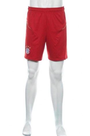 Ανδρικό κοντό παντελόνι Adidas, Μέγεθος M, Χρώμα Κόκκινο, 100% πολυεστέρας, Τιμή 10,49€