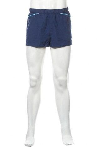 Ανδρικό κοντό παντελόνι Adidas, Μέγεθος M, Χρώμα Μπλέ, Πολυεστέρας, Τιμή 15,46€