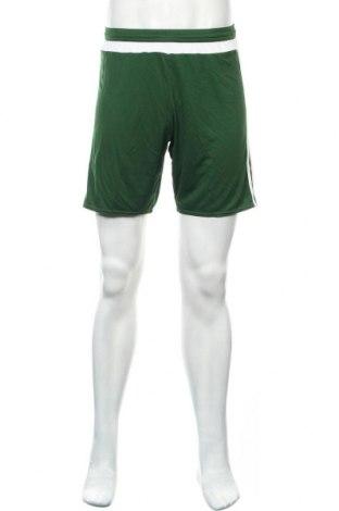 Ανδρικό κοντό παντελόνι Adidas, Μέγεθος S, Χρώμα Πράσινο, Πολυεστέρας, Τιμή 12,47€