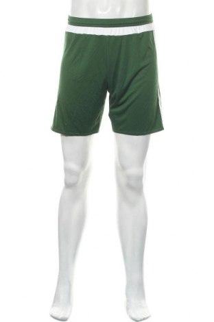 Ανδρικό κοντό παντελόνι Adidas, Μέγεθος S, Χρώμα Πράσινο, Πολυεστέρας, Τιμή 13,51€