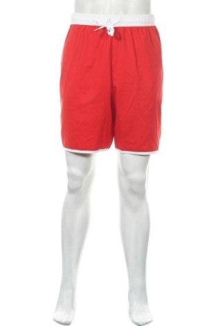 Ανδρικό κοντό παντελόνι Adidas, Μέγεθος XXL, Χρώμα Κόκκινο, 100% πολυεστέρας, Τιμή 14,55€