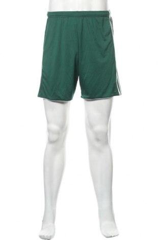 Ανδρικό κοντό παντελόνι Adidas, Μέγεθος M, Χρώμα Πράσινο, Πολυεστέρας, Τιμή 13,51€