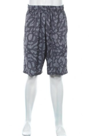 Мъжки къс панталон Air Jordan Nike, Размер L, Цвят Сив, Полиестер, Цена 19,64лв.