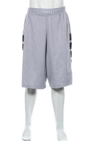 Ανδρικό κοντό παντελόνι Air Jordan Nike, Μέγεθος XXL, Χρώμα Γκρί, Πολυεστέρας, Τιμή 19,87€