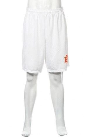 Мъжки къс панталон Alleson, Размер XL, Цвят Бял, Полиестер, Цена 17,01лв.